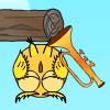 貓頭鷹敲鈸(Cute Owl)