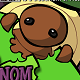 菜蟲啃樹葉(Om Nom Nom Munch)