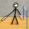火柴人羽毛球(Stick Figure Badminton)