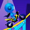特技軌道摩托車 2(Stunt Bike Draw 2)