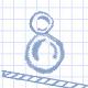圓墨球進框(The Circular Blot)